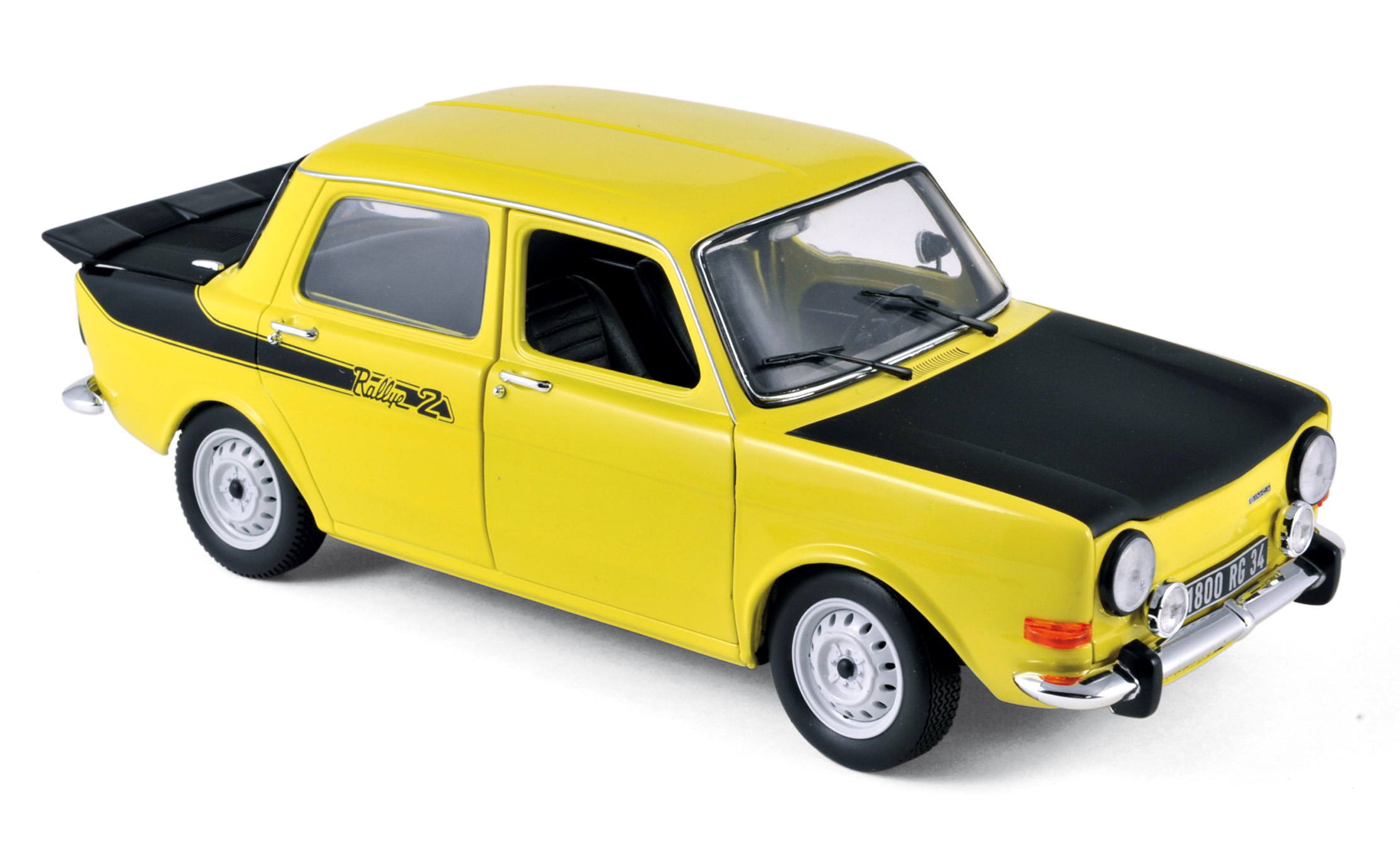 modellauto simca 1000 rallye 2 gelb 1976 norev 1 18 bei. Black Bedroom Furniture Sets. Home Design Ideas