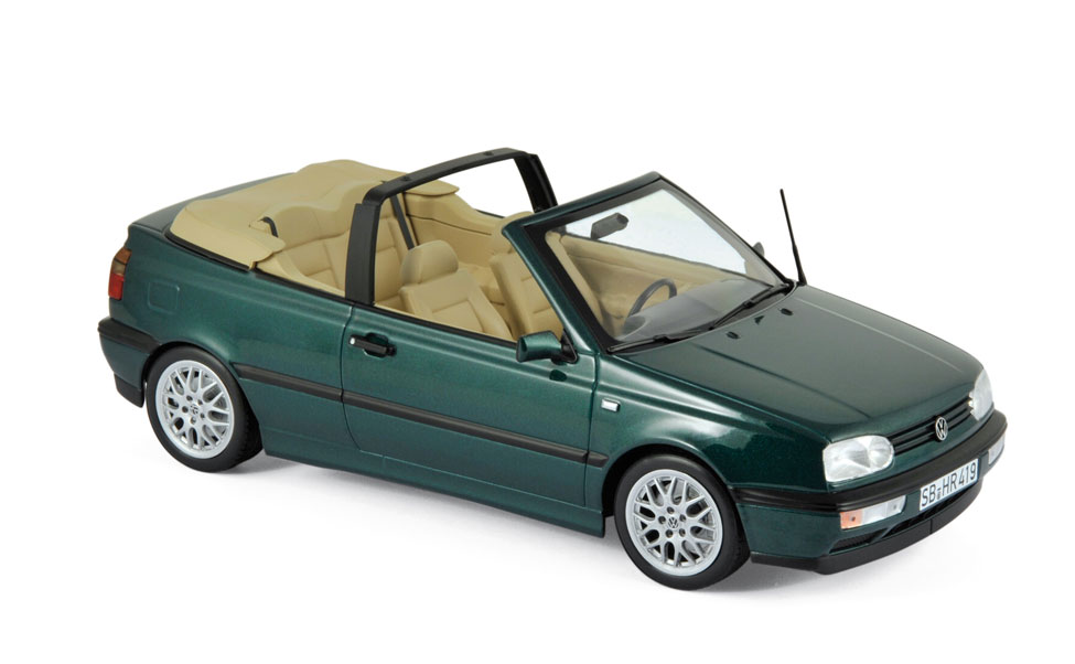 modellauto volkswagen vw golf cabriolet 1995 blue green metallic t ren motorhaube nicht. Black Bedroom Furniture Sets. Home Design Ideas