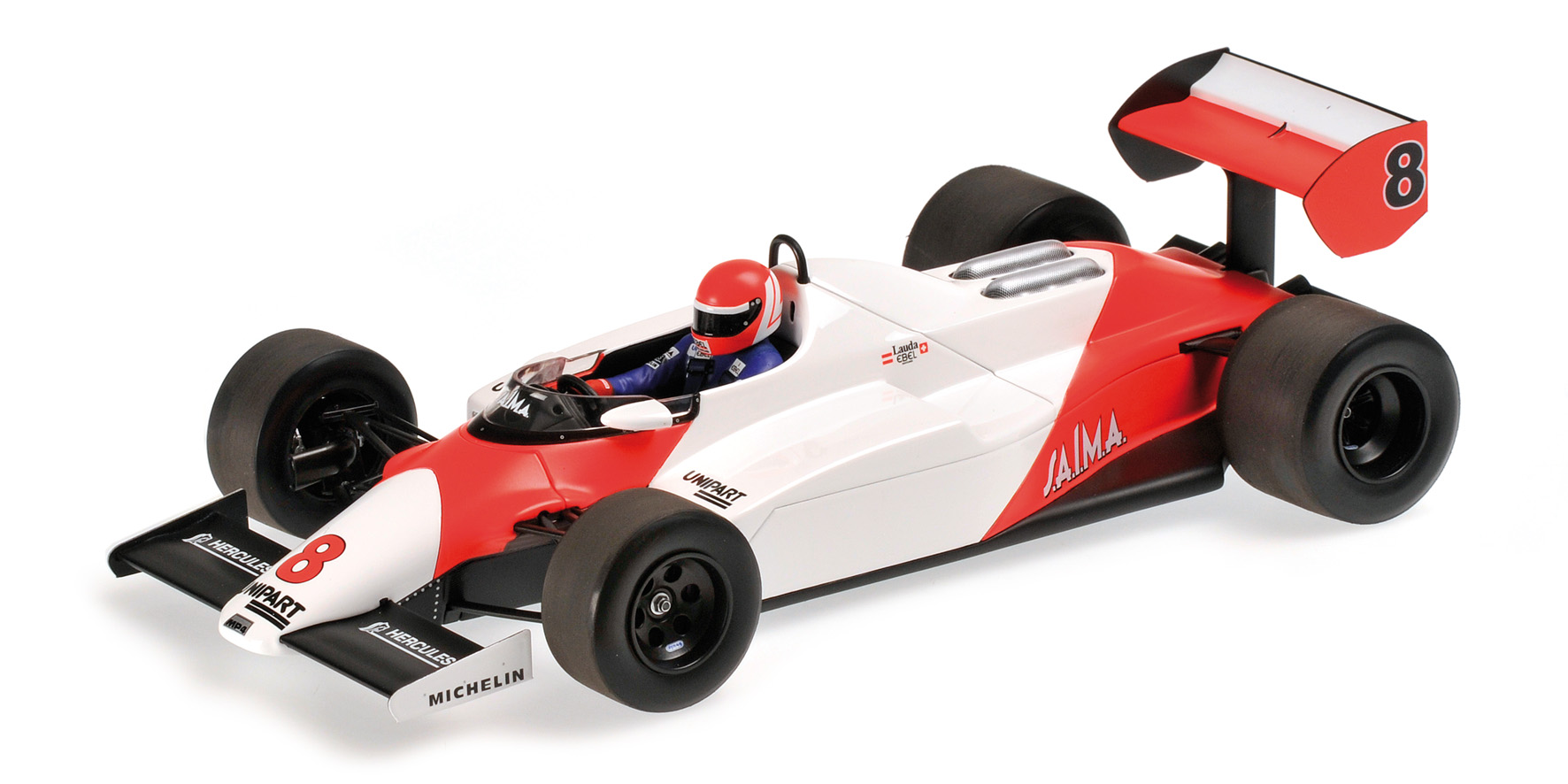 modellauto mclaren ford mp4 1c niki lauda 1983. Black Bedroom Furniture Sets. Home Design Ideas
