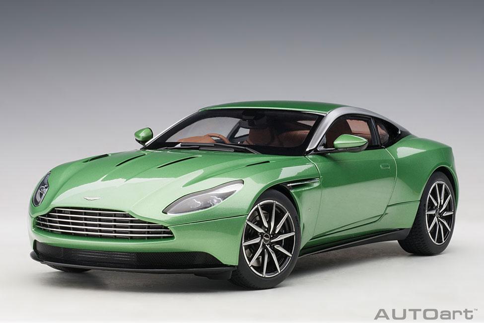 Modellauto Aston Martin Db11 Appletree Green Composite Model Full Openings Autoart 1 18 Bei Modellauto18 De