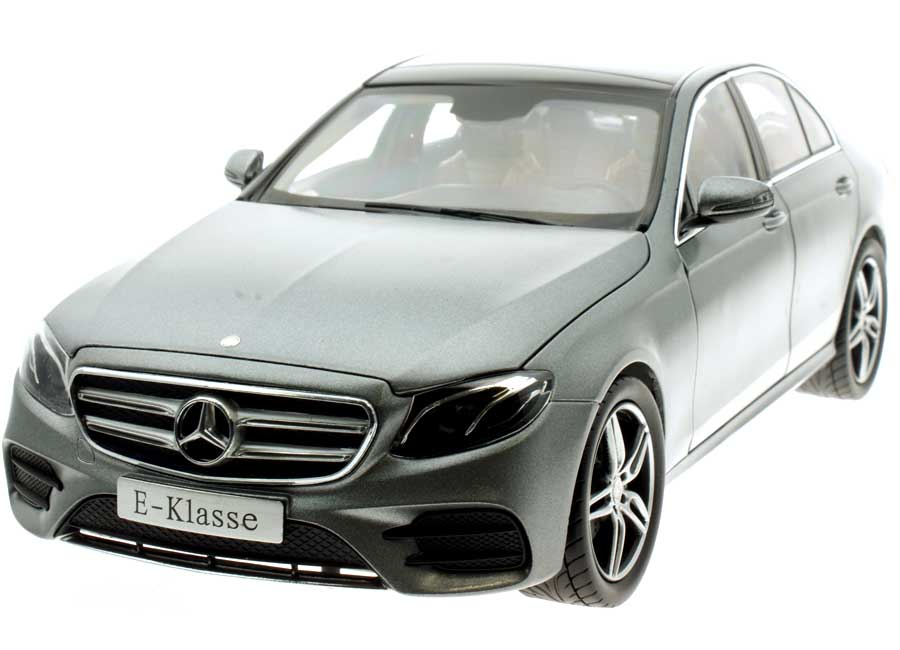 Mercedes W213 E-Klasse AMG selenitgrau magno Industriemodell (in Mercedes-Benz Verpackung) iScale 1:18