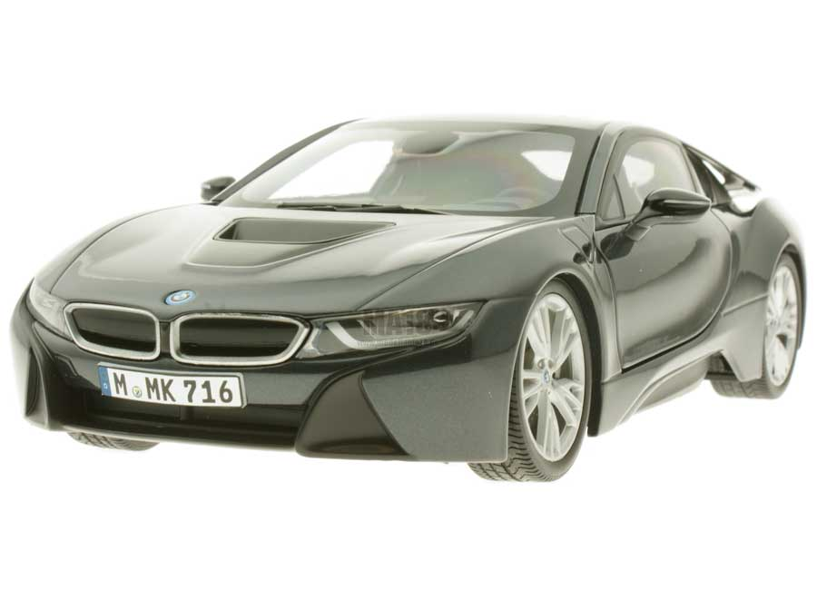 Modelcar Bmw I8 Sophisto Grey With Frozen Grey Paragon 1 18 At