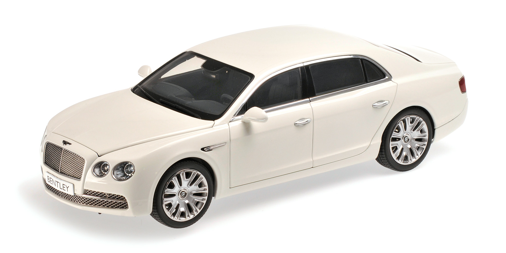Kyosho Bentley Flying Spur W12 2012 weiß Modellauto 1:18