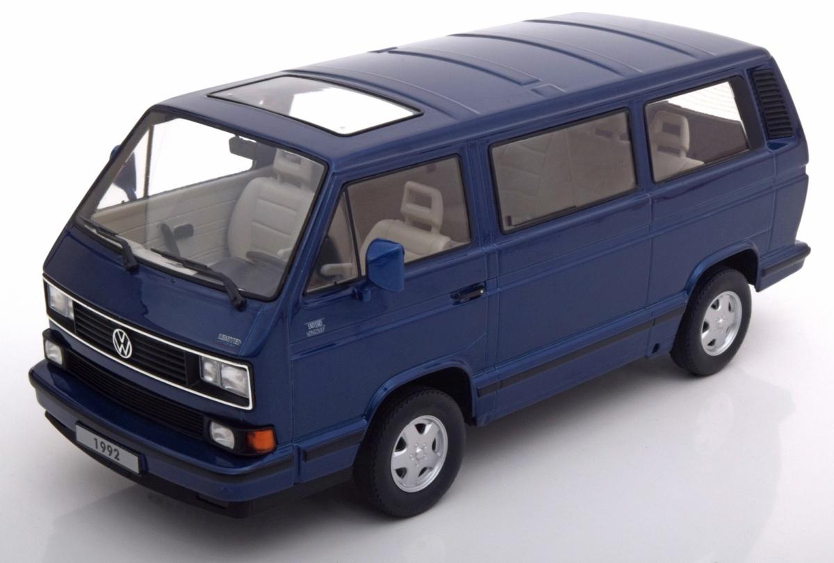 modellauto vw t3 limited last edition 1992 blau kk scale. Black Bedroom Furniture Sets. Home Design Ideas