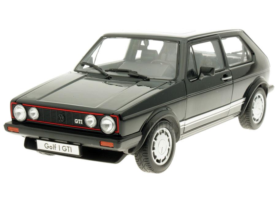 Modellauto Volkswagen Golf 1 Gti Schwarz Welly 1 18 Bei