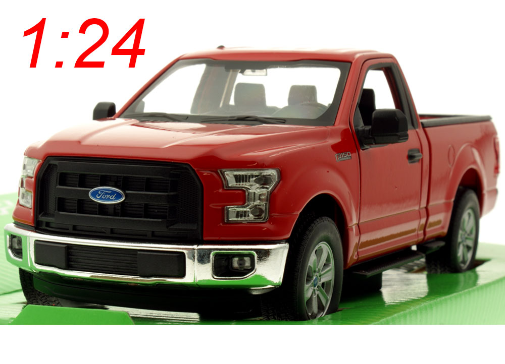 modellauto ford f 150 regular cab rot 2015 welly 1 24 bei. Black Bedroom Furniture Sets. Home Design Ideas