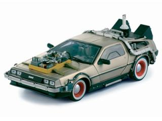 DeLorean Time Mashine Back to the Future III Sun Star 1:18