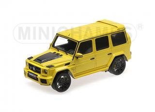 BRABUS 850 6.0 BITURBO WIDESTAR AUF BASIS MERCEDES-BENZ – AMG G 63 – 2016 – YELLOW  Minichamps 1:18