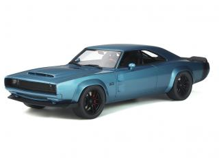 This week`s offer: <br>DODGE SUPER CHARGER CONCEPT Blue poly 2018 GT Spirit 1:18 Resinemodell (Türen, Motorhaube... nicht zu öffnen!)<br>Valid until 14.05.2021 or until stocks last!