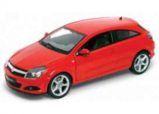 Opel Astra GTC 2005 rot Welly 1:18