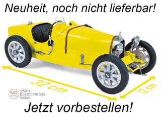 Bugatti T35 1925 - Yellow Norev 1:12 <br> Availability unknown (not before Q4 2020)