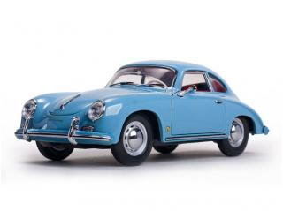 Porsche 356A 1500 GS Carrera GT Coupé 1957 Meissen Blue SunStar 1:18