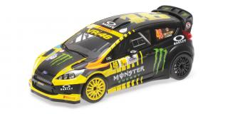 FORD FIESTA RS WRC – ROSSI/CASSINA – 2ND PLACE MONZA RALLY SHOW 2013 Minichamps 1:18