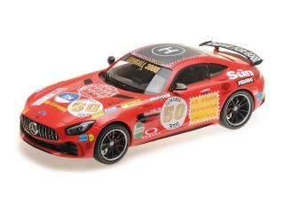 "Mercedes-AMG GT-R - 2017 - ""ROTE SAU"" GUMBALL 3000 Minichamps 1:18"