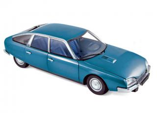 Citroën CX 2000 1974 - Delta Blue metallic Norev 1:18
