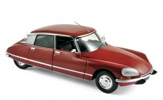 Citroën DS 23 Pallas 1973 - Massena Red Norev 1:18