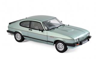Ford Capri Mk.III 2.8 Injection 1982 - Crystal Green metallic - Norev 1:18