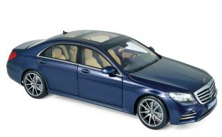 Mercedes-Benz S-Class AMG-Line 2018 - Dark Blue metallic Norev 1:18