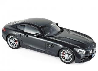 Mercedes-AMG GT S 2018 - Black metallic Norev 1:18