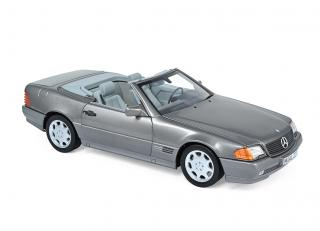 Mercedes-Benz 500 SL 1989 - Grey metallic Norev Metallmodell 1:18
