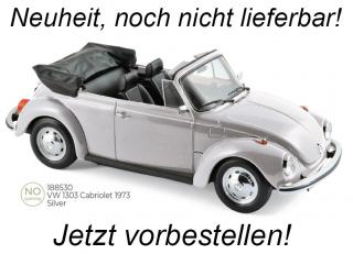VW 1303 Cabriolet 1973 - Silve Norev 1:18 Metallmodell  Availability unknown (not before Q2 2021)