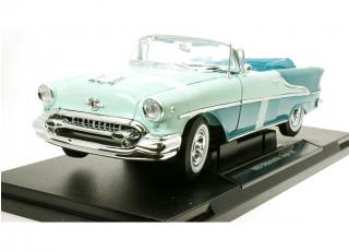 Oldsmobile Super 88 cabriolet grün Welly 1:18