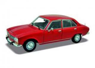 Peugeot 504 1974 rot Welly 1:24