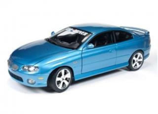 Pontiac GTO coupe 2004 blue Auto World 1:18 Metallmodell