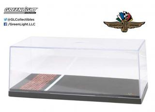 Vitrine 1/18 Indianapolis Motor Speedway Yard of Bricks Special Edition Big Show case. Greenlight 1:18