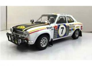 1972 Ford Escort RS 1600 MKI #7 Safari Rally winner Limited: 1002 Pieces Triple9 Collection 1:18