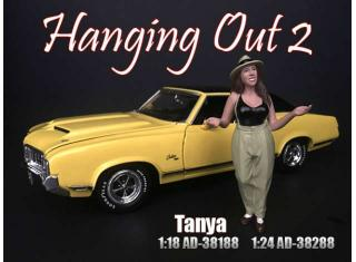 Hanging Out 2 Tanya (Auto nicht enthalten) American Diorama 1:18