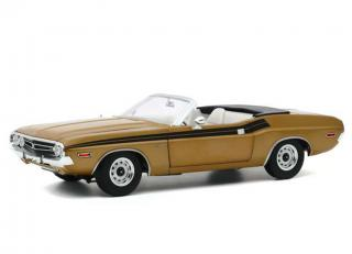 Dodge Challenger 340 Convertible 1971 *The Mod Squad 1968-73 TV Series*, gold Greenlight 1:18