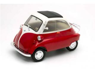 BMW Isetta rot/weiß Welly 1:18