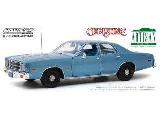 Plymouth Fury 1977 *Christine 1983 Detective Rudolph Junkins* Greenlight 1:18