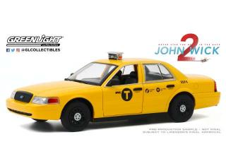 Ford Crown Victoria Taxi 2008 *John Wick Chapter 2 2017* Greenlight 1:24