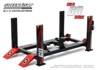 "Hebebühne Four-Post Lift ""Gone in Sixty Seconds""  Greenlight 1:18 Greenlight 1:18"