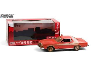 Ford Gran Torino 1976 (Weathered Version) *Starsky and Hutch 1975-79 TV Series* Greenlight 1:24
