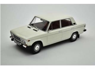 Lada 2106 - 1976 white with red interior Triple9 Collection 1:18