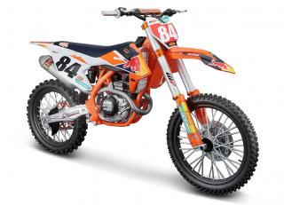 KTM Supercross 450 SX-F Factory Edition 2018 Jeffrey Herlings Red Bull Factory Racing Maisto 1:6