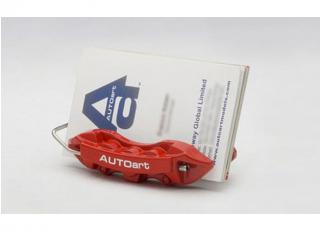 BRAKE CALIPER NAMECARD HOLDER (RED) AUTOart
