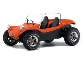 Meyers Manx Buggy orange metallic, 1968 Solido S1802702 Metallmodell 1:18