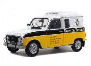 "Renault 4LF4, 1975 ""Service Renault"" Solido S1802202 Metallmodell 1:18"