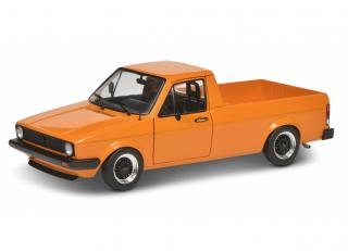 VW Caddy MKI Custom 1982 orange met. S1803502 Solido 1:18 Metallmodell