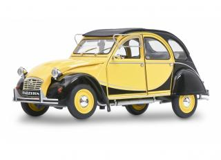 This week`s offer: <br>Citroen 2CV6 CHARLESTON, gelb-schwarz S1805015 Solido 1:18 Metallmodell<br>Valid until 29.01.2021 or until stocks last!