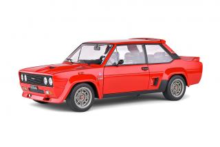 Fiat 131 Abarth 1980 Red S1806002 Solido 1:18 Metallmodell