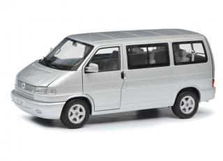 This week`s offer: <br>VW T4b Caravelle, silber/silver LIMITED EDITION 1000 Schuco 1:18<br>Valid until 25.09.2020 or until stocks last!