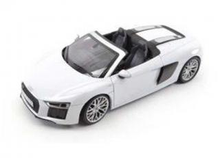 Audi R8 Spyder V10 - grey Industriemodell (in Audi-Verpackung) iScale 1:18