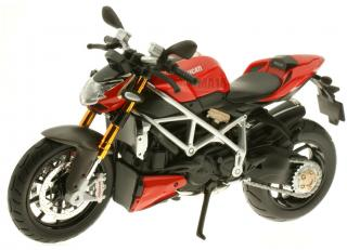 Ducati mod. Streetfighter S  red / black  Maisto 1:12