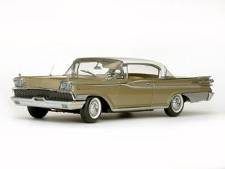 Mercury Park Lane Hard Top 1959 Marble White / Golden Beige 5163 SunStar 1:18