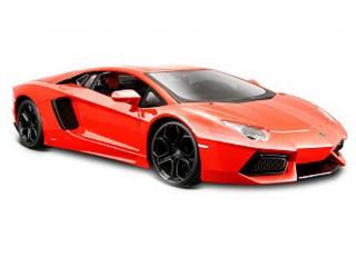 Lamborghini Aventador LP700 2011 orange Maisto 1:24